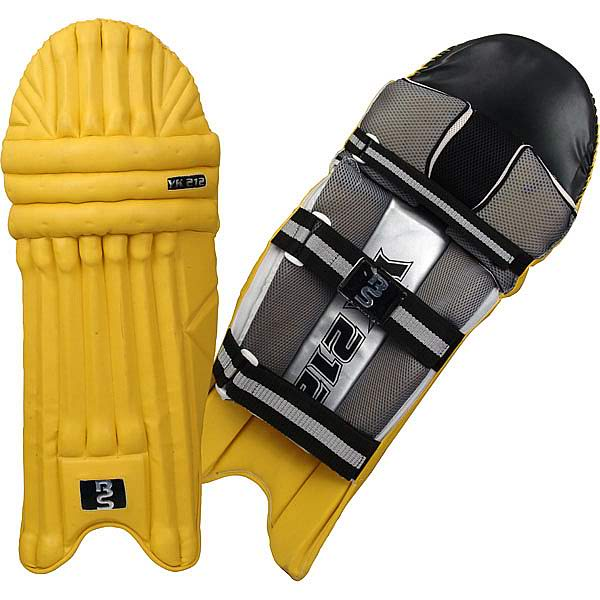 BS Sports YK 212 Batting Pads Yellow