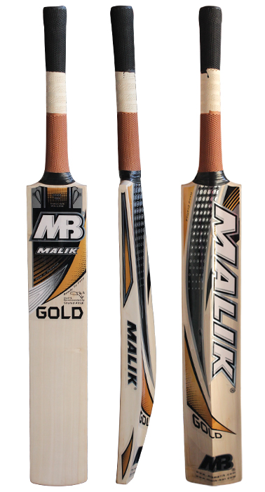 Malik Gold Cricket Bat