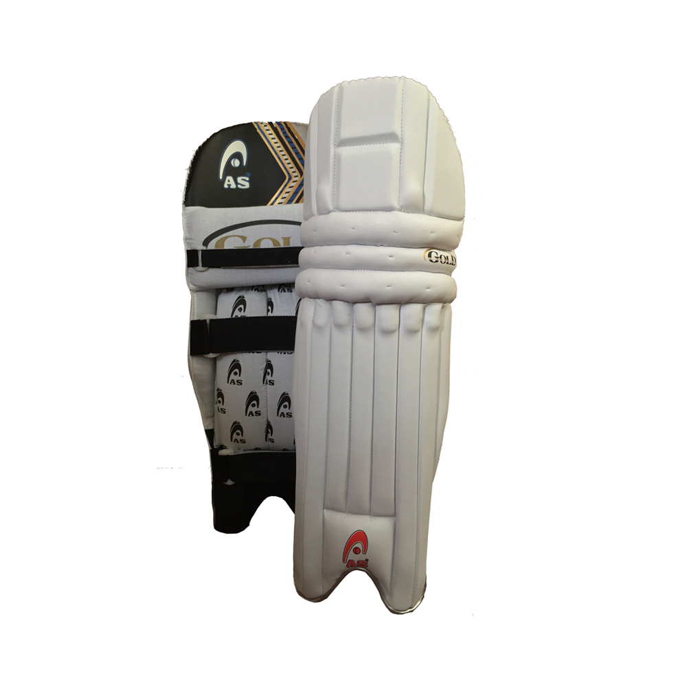 AS Gold Batting Pads